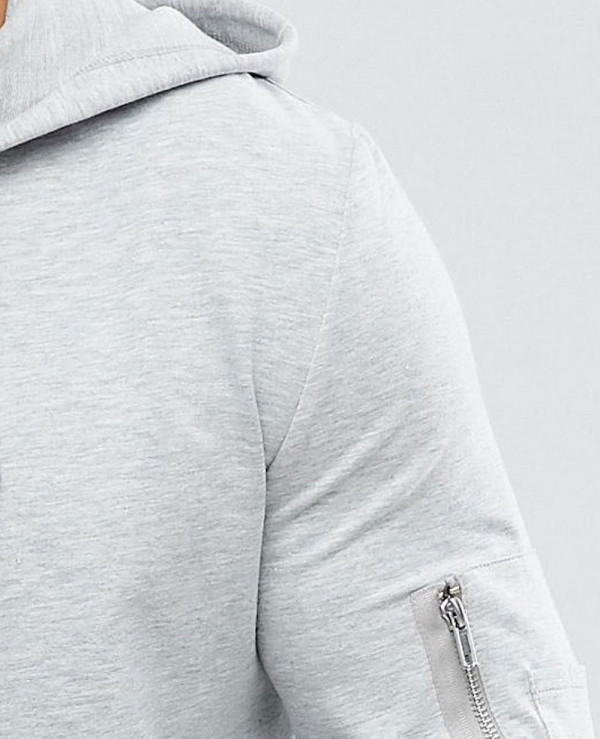 Muscle-Longline-With-Side-Zipper-And-Curved-Hem-Pockets-In-Grey-Hoodie