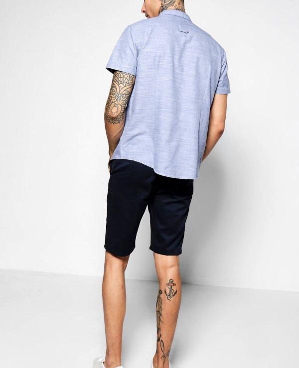 Navy-Slim-Chino-Swim-Shorts
