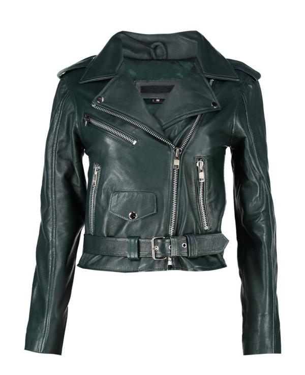 New-Black-Moto-Leather-Biker-Jacket