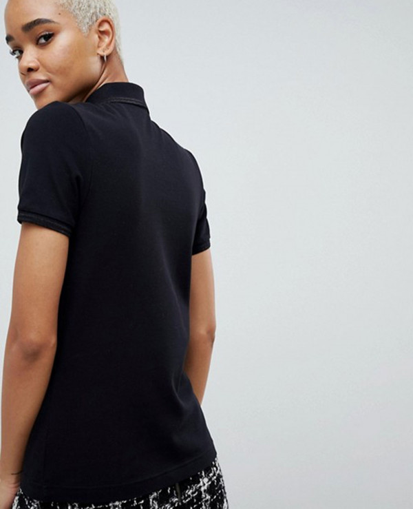 New-Black-Twin-Tipped-Polo-Shirt-With-Trim