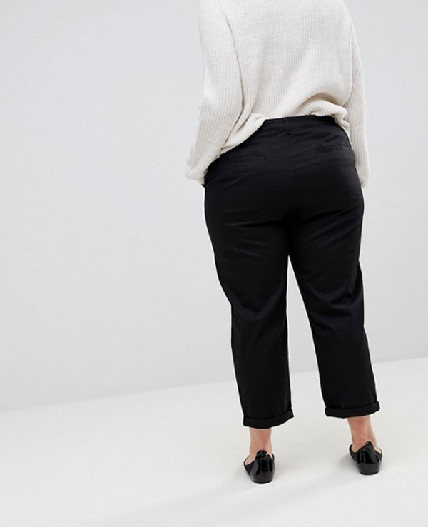 New-Curve-Fashion-Chino-Trousers-in-Black
