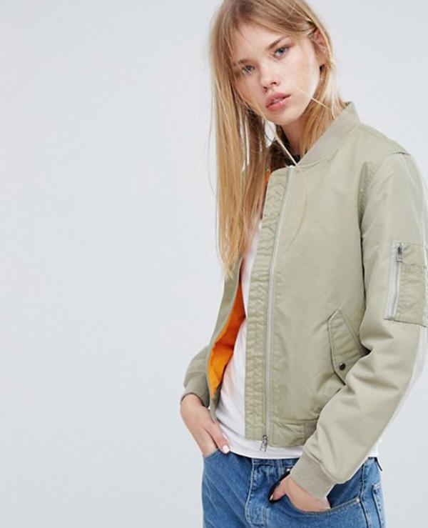 New-Fashion-Green-Bomber-Varsity-Jacket