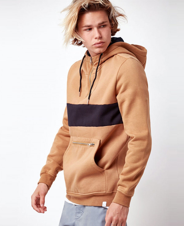 New-Fashionable-Custom-Men-Quarter-Zip-Pullover-Hoodie-AA-587-(1)