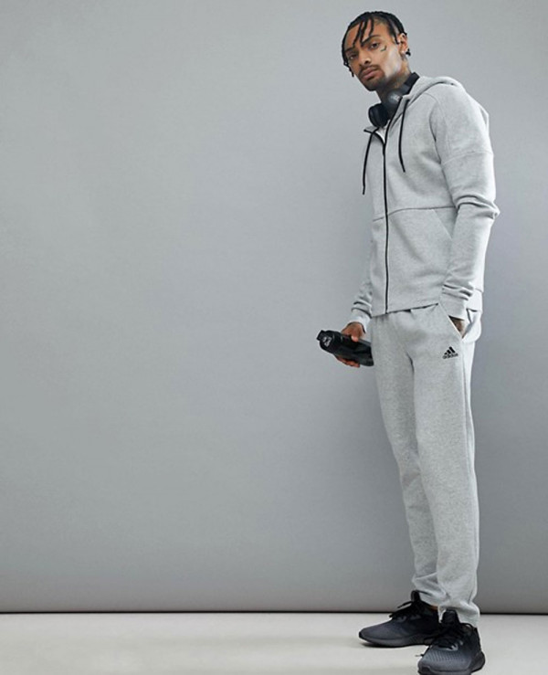 New-Fashionable-With-High-Quality-Men-Grey-Hoodie