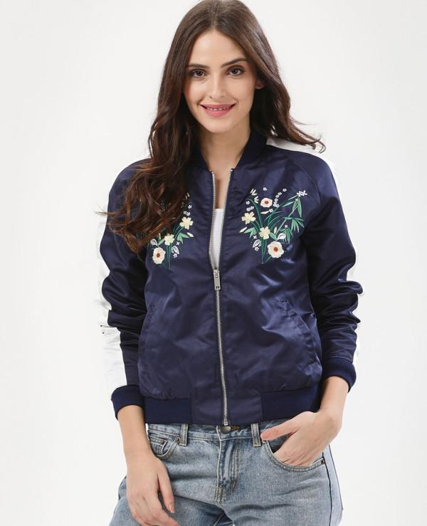 New-Floral-Embroidered-Satin-Bomber-Varsity-Jacket