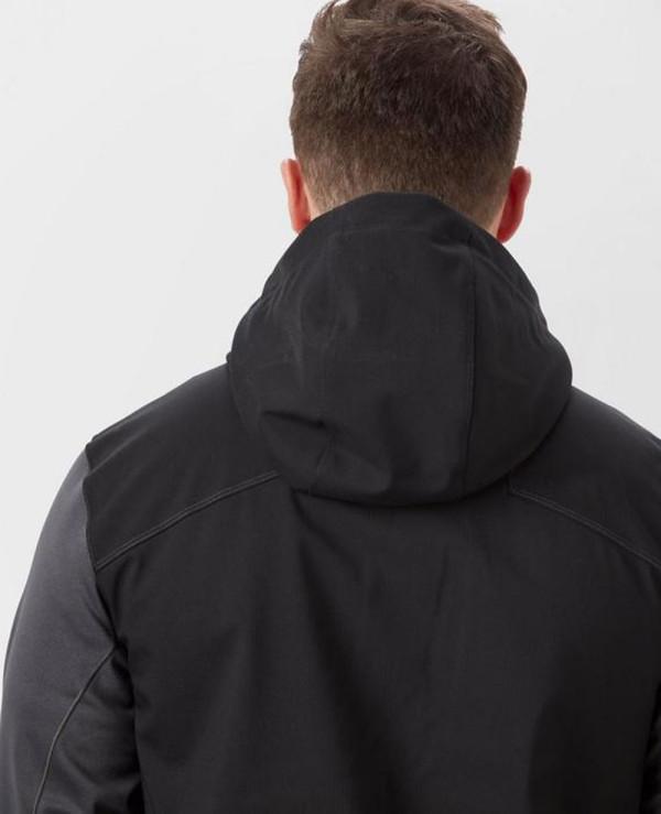New-Hot-Selling-Men-Custom-Black-Softshell-Jacket