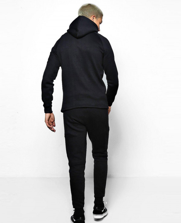 New-Hot-Selling-Skinny-Fit-Hooded-Tracksuit