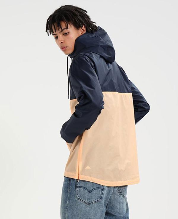 New-Hot-Selling-Windbreaker-Dress-Blue-Jacket