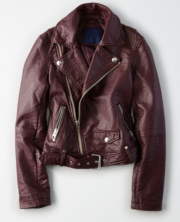 New-Hot-Selling-Women-Biker-Leather-Jacket