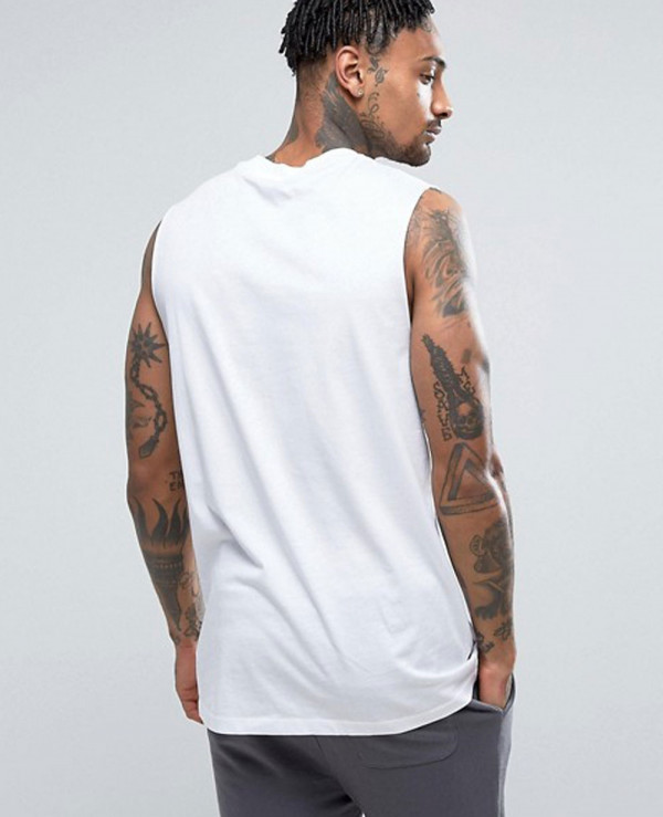 New-Look-Sleeveless-In-White-Tank-Top