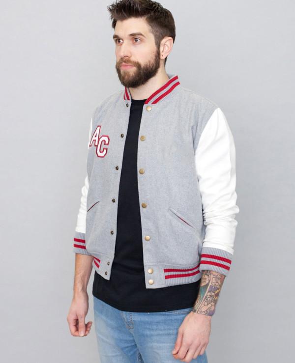 New-Stylish-Brand-Your-Own-Black-Varsity-Jacket
