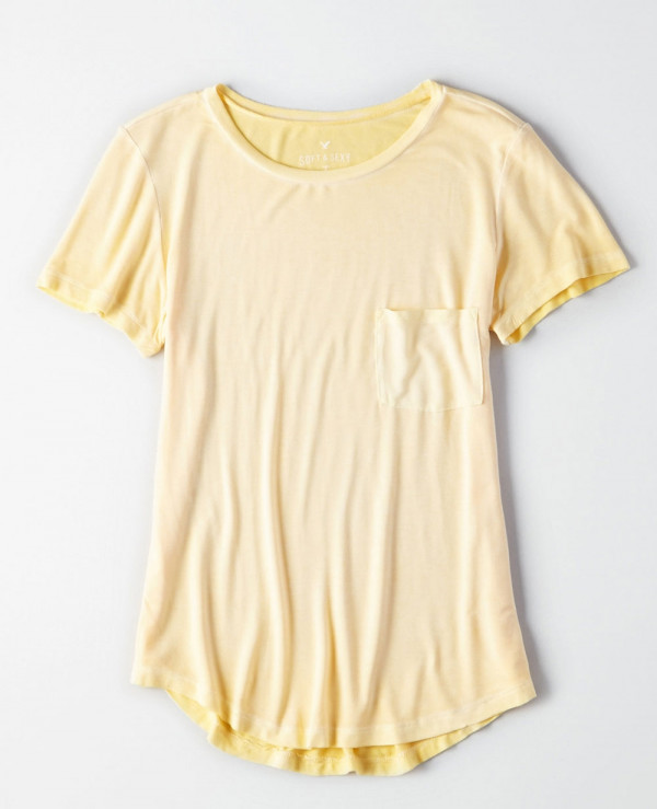 New-Stylish-crew-Neck-Pocket-T-Shirt