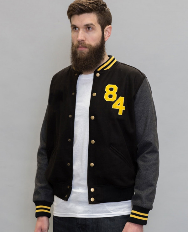 New-Stylish-Custom-Varsity-Bomber-With-Contrast-Sleeve
