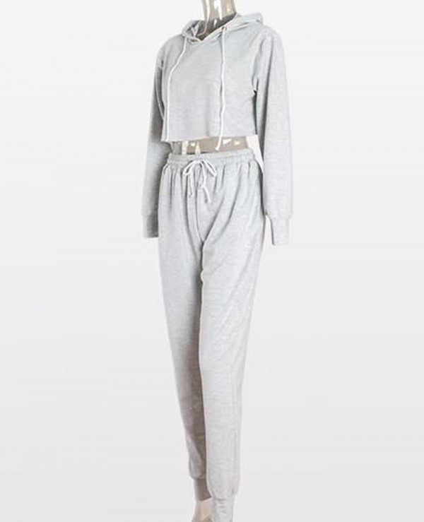 New-Tracksuit-Pants-Set-Long-Sleeve-Hoodies-Sweatshirts-Cotton-Crop-Top
