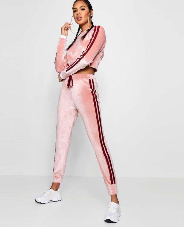 Olivia-Side-Stripe-Velour-Jogger