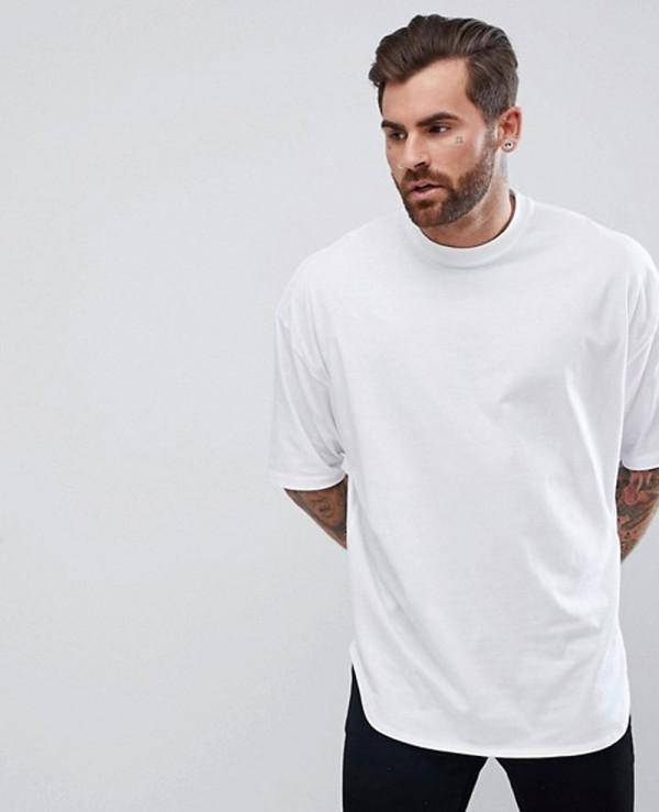 Oversized-Longline-With-Deep-Curve-Hem-T-Shirt