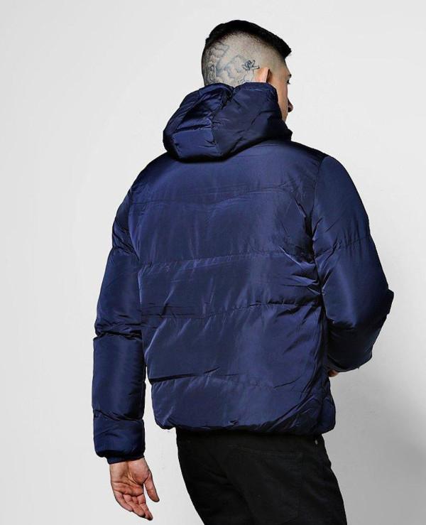 Puffer-With-Tech-Zipper-Jacket-In-Navy-Blue