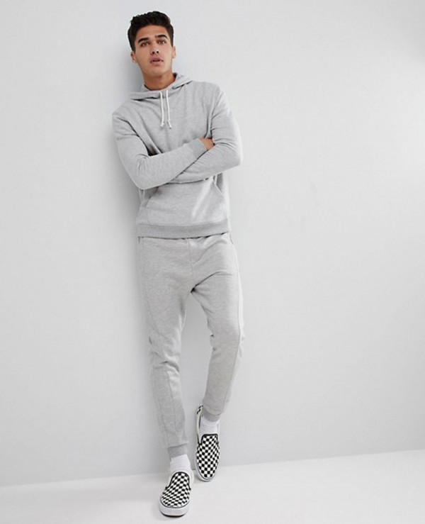 Pullover-Most-Selling-Men-Hoodie-In-Grey