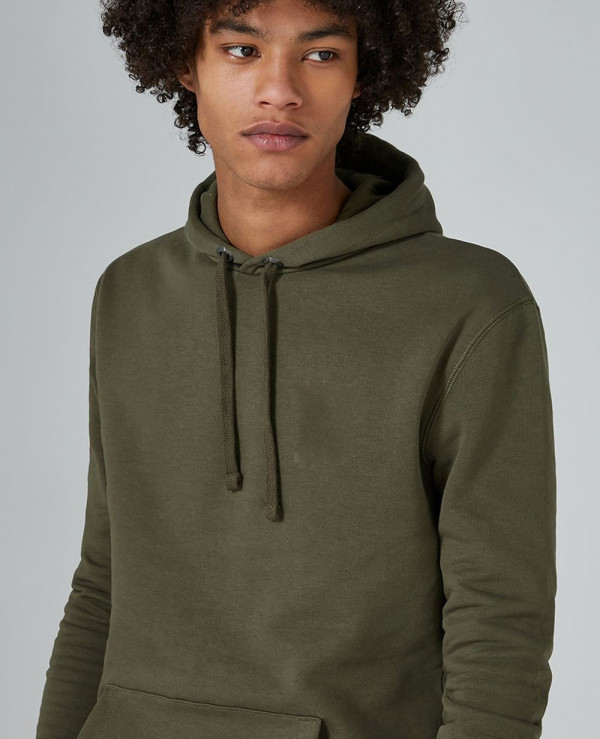 Pullover-Stylish-Men-Khaki-Hoodie