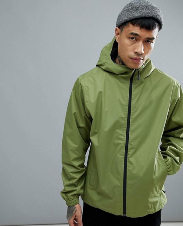 Quest-Jacket-Waterproof-Hooded-In-Green-Windbreaker-Jacket