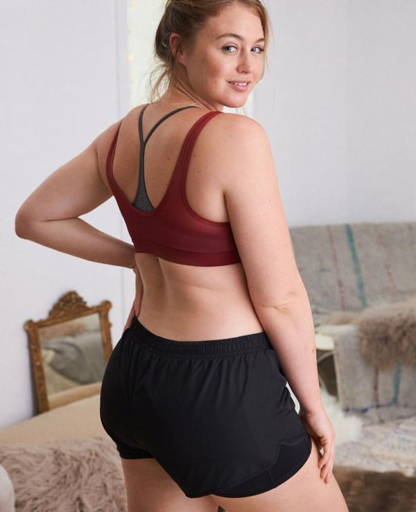 Sexy-&-Hot-Women-Stylish-Short-in-Black