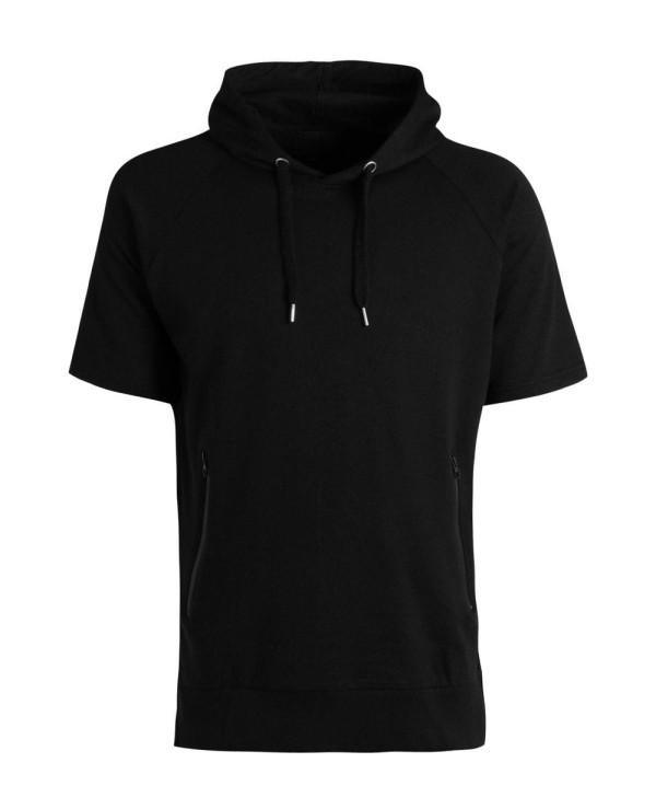 Short-Sleeve-Raglan-Men-Charcoal-Hoodie