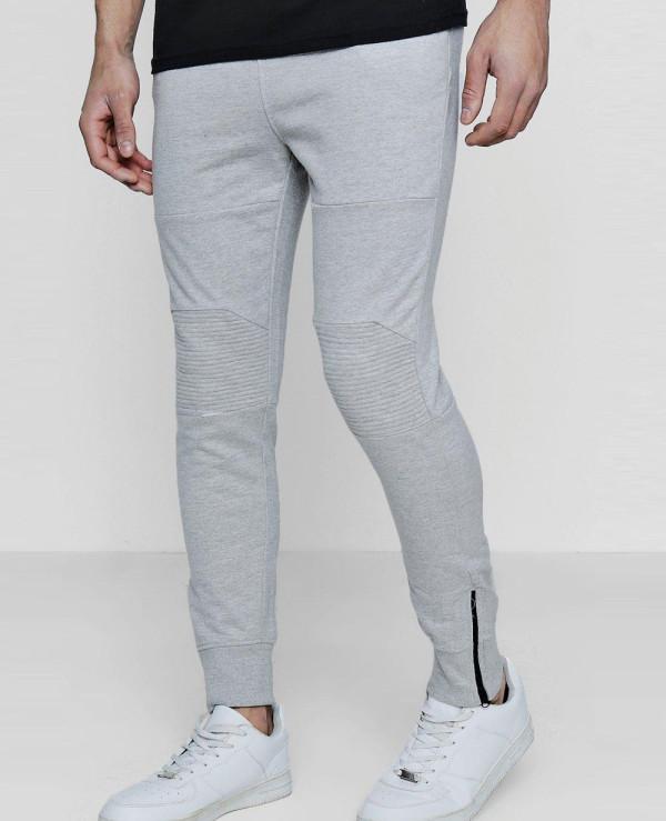 Skinny-Fit-Biker-Panel-With-Zipper-Cuff-Sweatpant-Jogger