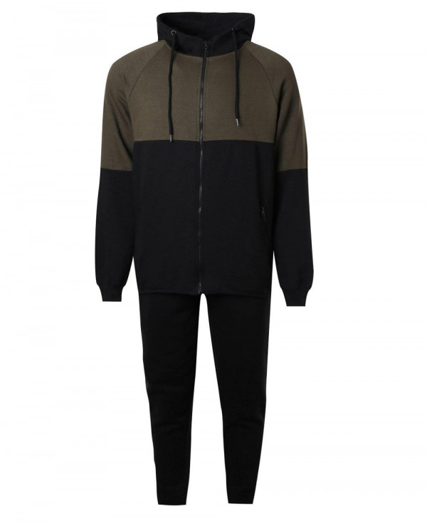 Skinny-Fit-Two-Tone-Tracksuit