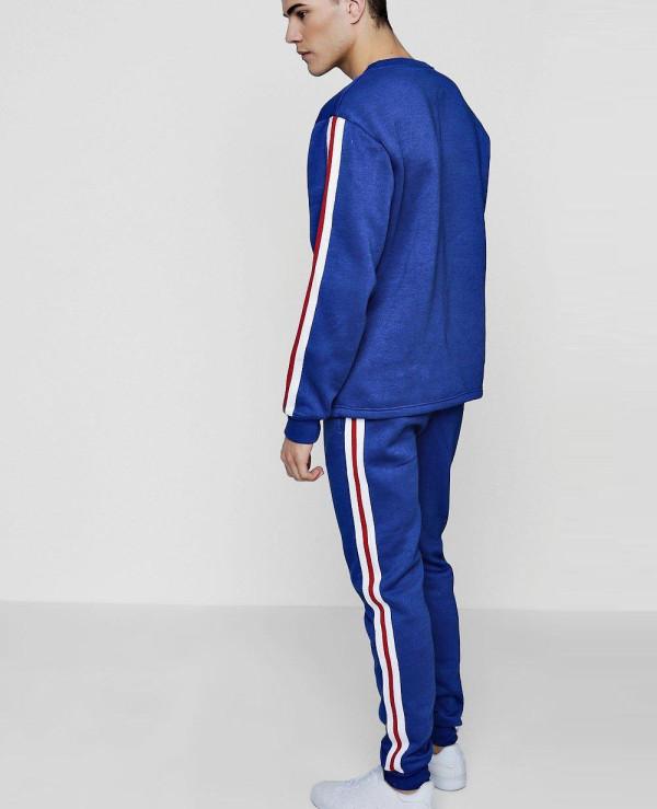 Skinny-Stripe-Sweater-Tracksuit