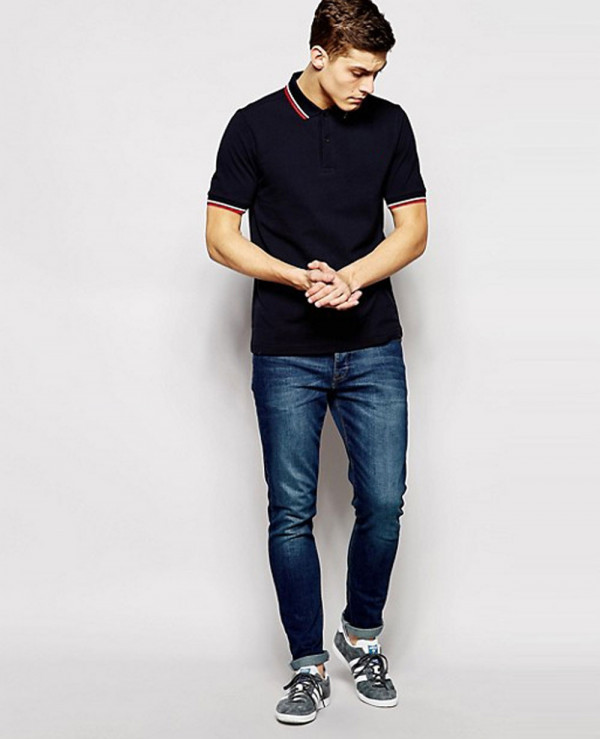 Slim-Fit-Twin-Tipped-Polo-Shirt-in-Navy