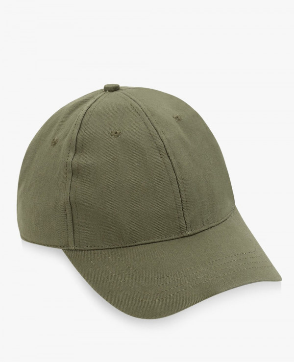 Solid-Curved-Peak-Cap