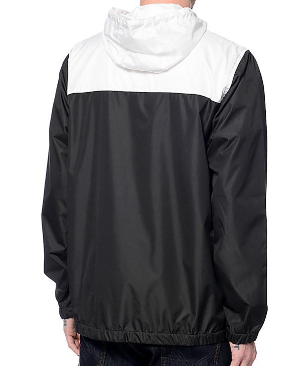 Sprint-White-&-Black-Windbreaker-Jacket