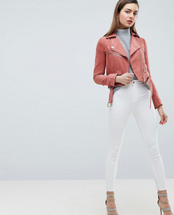 Suedette-Biker-Jacket-with-Gold-Details
