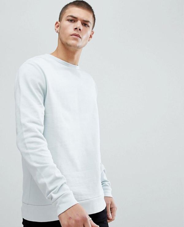 Sweatshirt-In-Light-Blue
