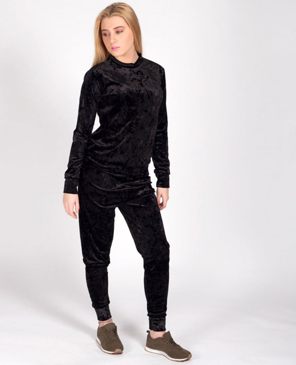 Velour-Velvet-Loungewear-Set-Tracksuit-Mustard-Gold-