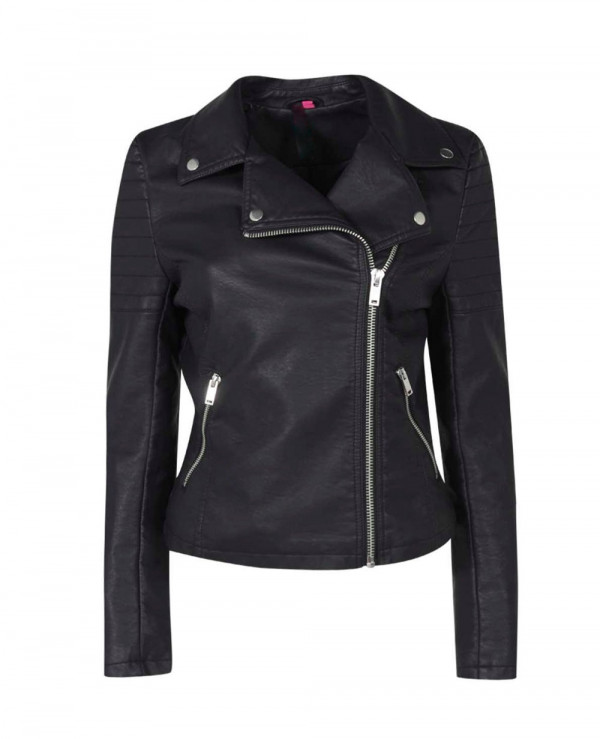 Women-Black-Leather-Biker-Jacket