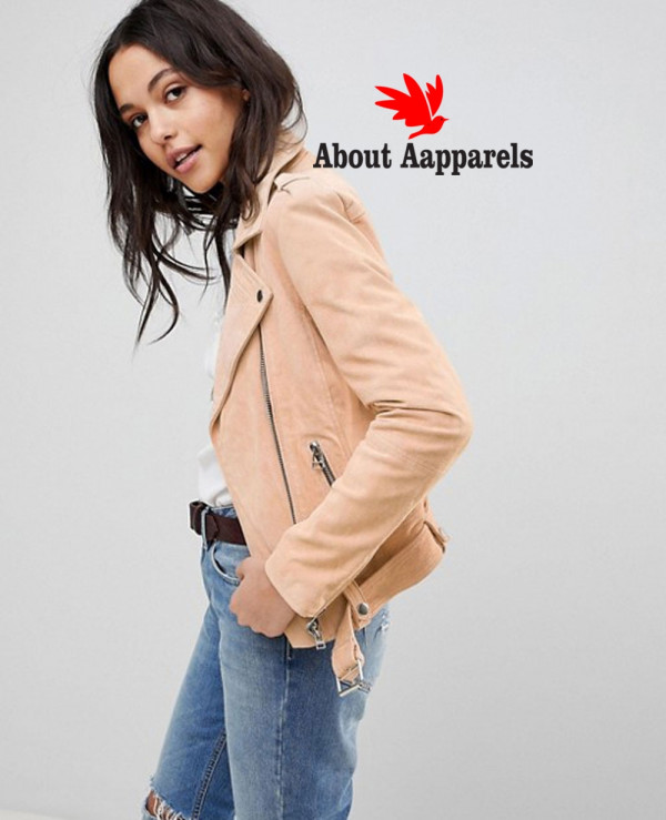 Women-Custom-Suede-Biker-Jacket-with-Belt