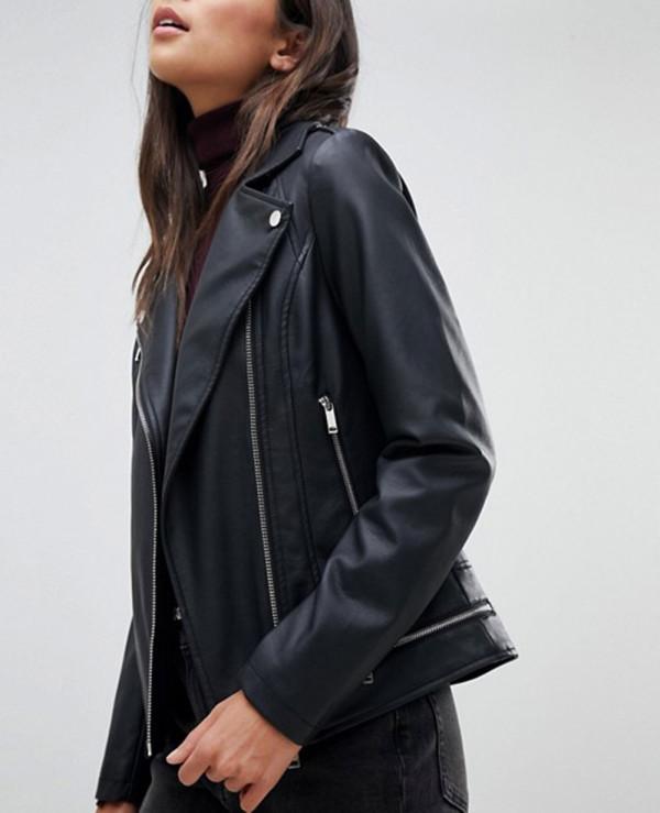 Women-High-Quality-Custom-Leather-Look-Biker-Jacket