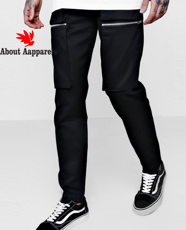 Zip-Up-Cargo-Trouser-in-Slim-Fit