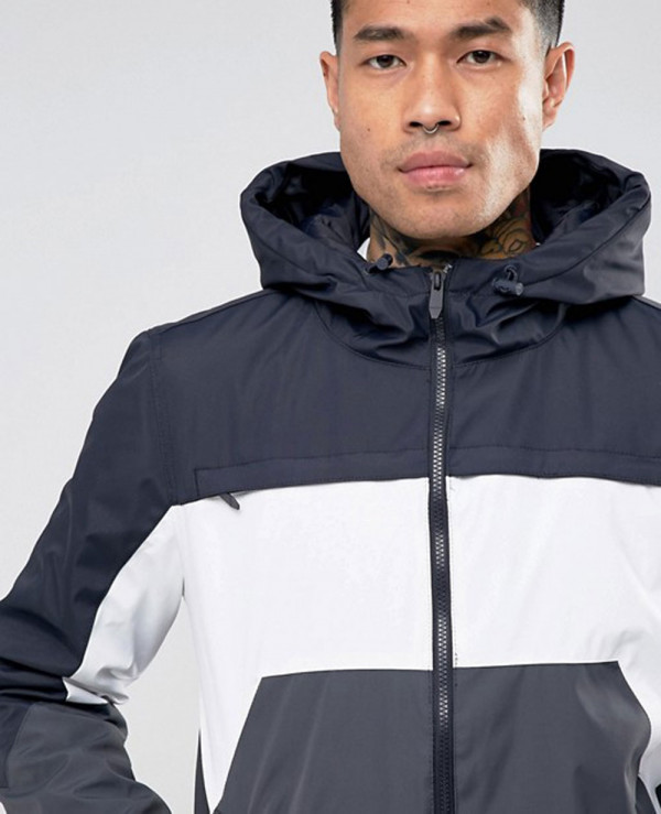 Zipper-Through-Colour-Block-Windbreaker-Jacket-In-Navy-and-White